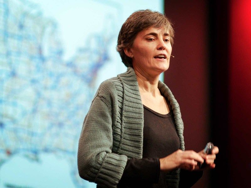 Robin Chase founded Zipcar, the world's biggest car-sharing business_