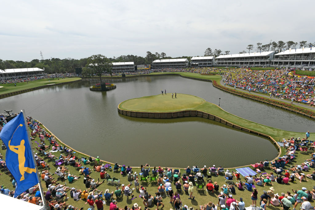 A scenic of the 17th Hole