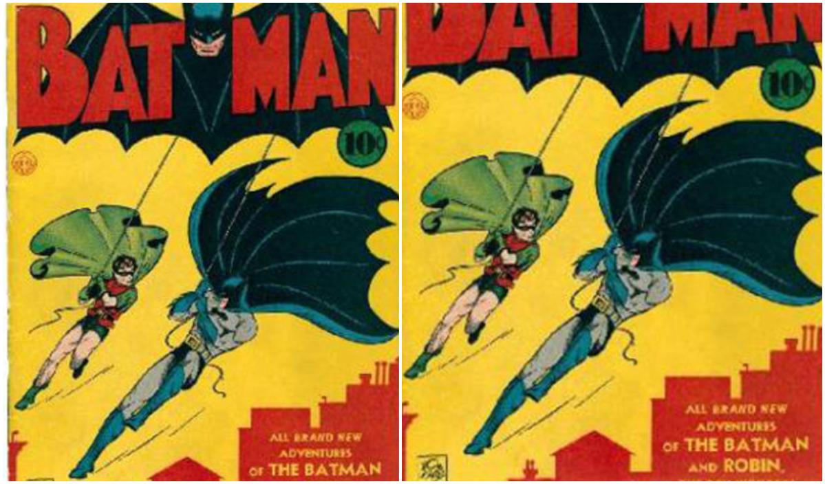 batman and robin swing