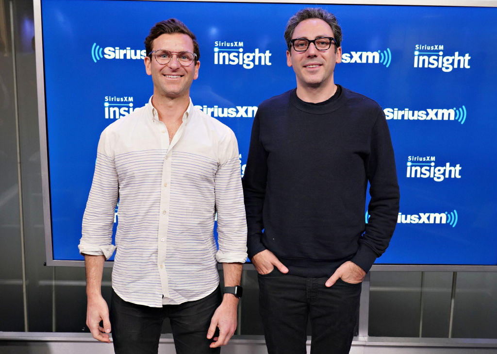 warby parker co-founders neil blumenthal and dave gilboa at siriusxm