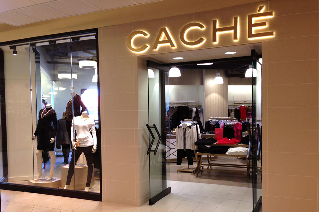 Exterior of Cache store
