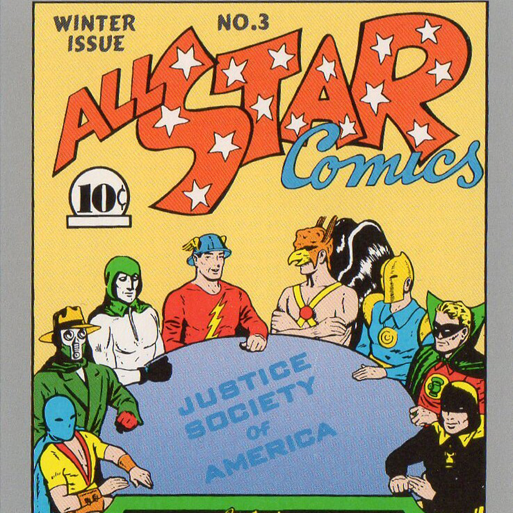 all star comics no 3