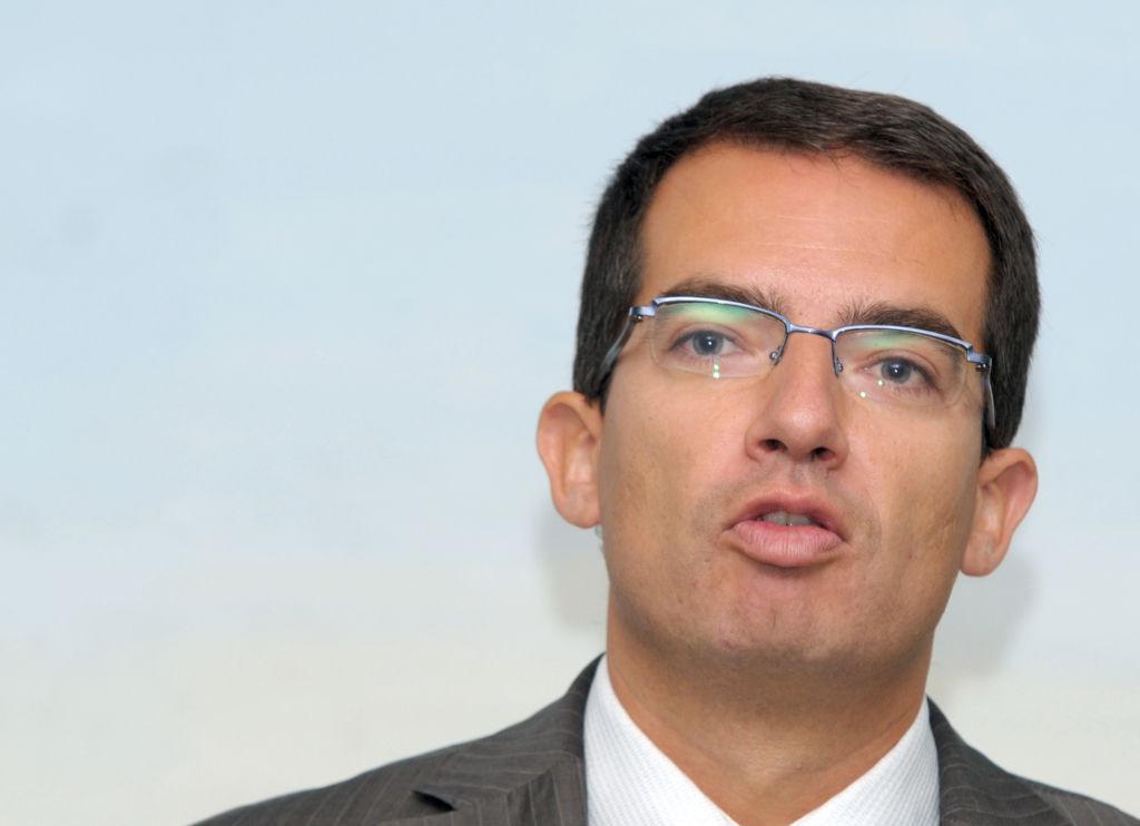 French pharmaceutical company BioMerieux CEO, Stephane Bancel