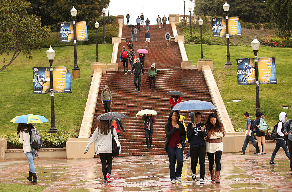 UCLA campus on May 14, 2015