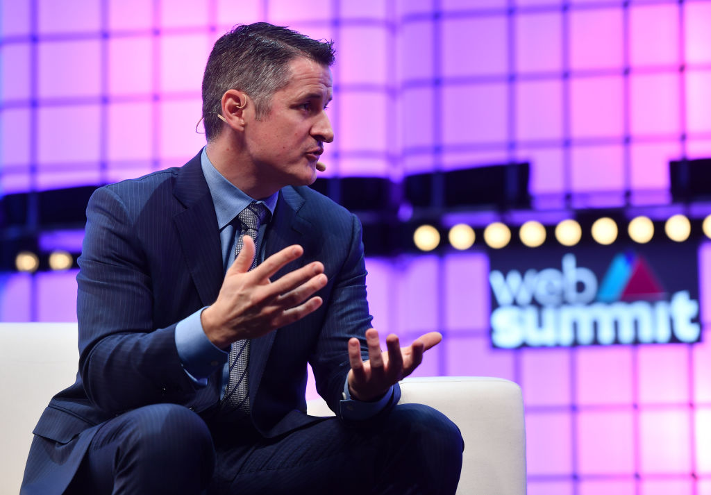 Brendan Kennedy, CEO, Tilray, on Centre Stage during day three of Web Summit 2018