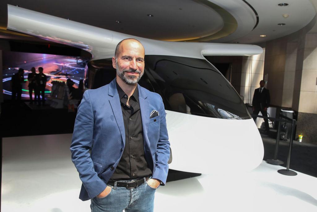 Dara Khosrowshahi, CEO, Uber attends the Uber Elevate Summit 2019