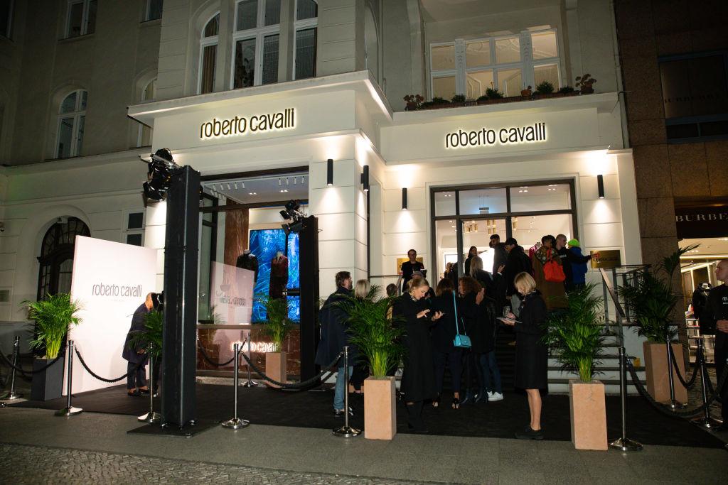 Opening of Roberto Cavalli store