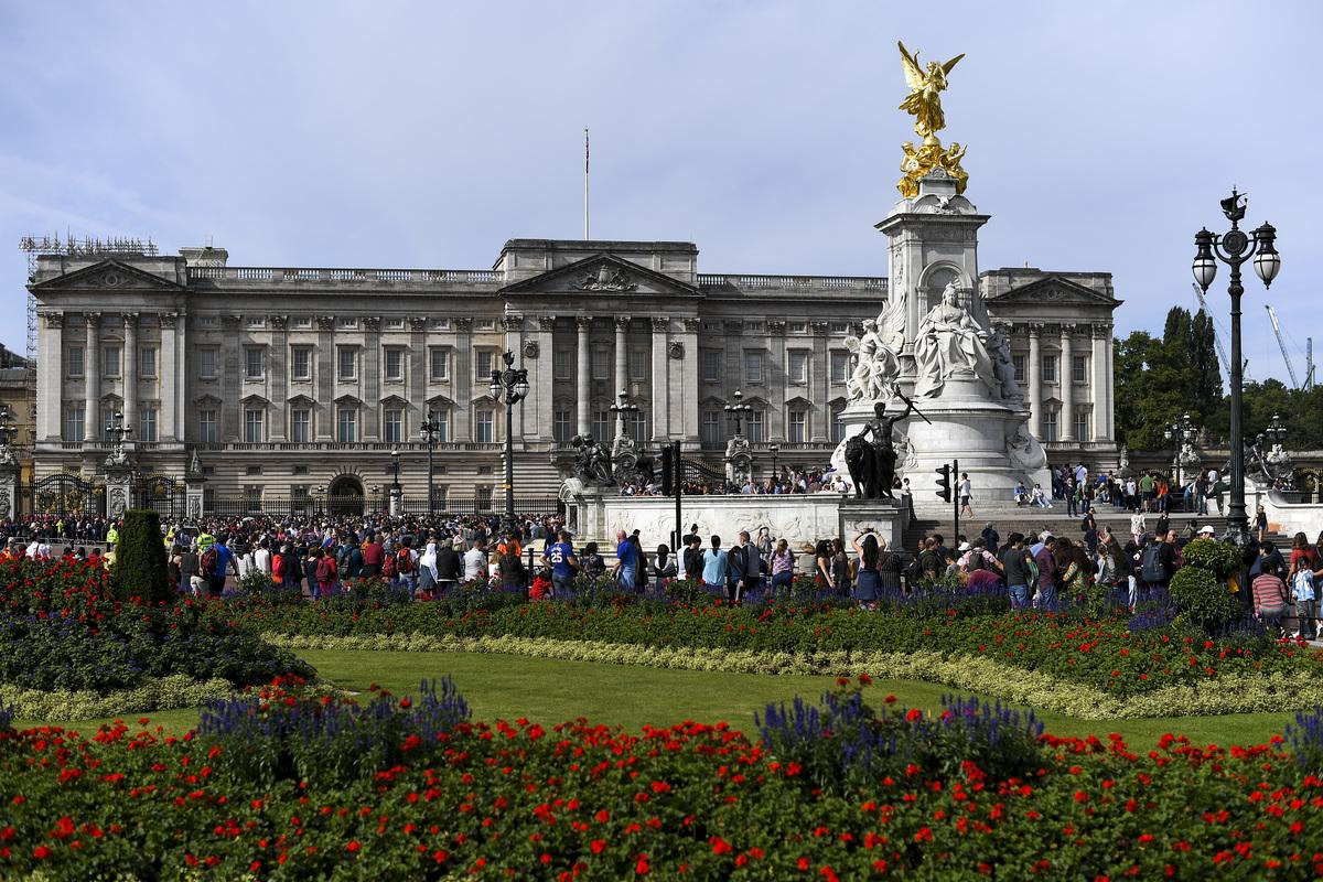 Buckingham Palace Restorations