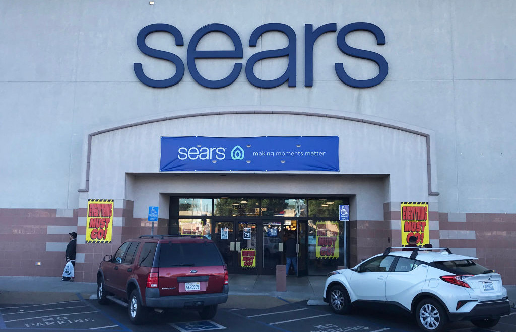 Exterior of Sears