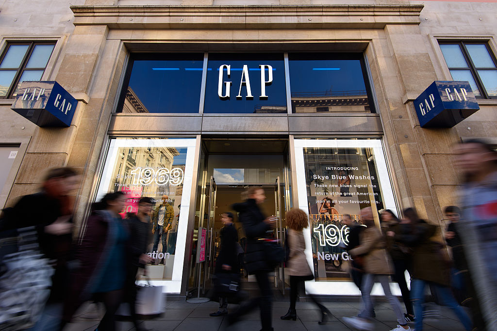 the gap outside