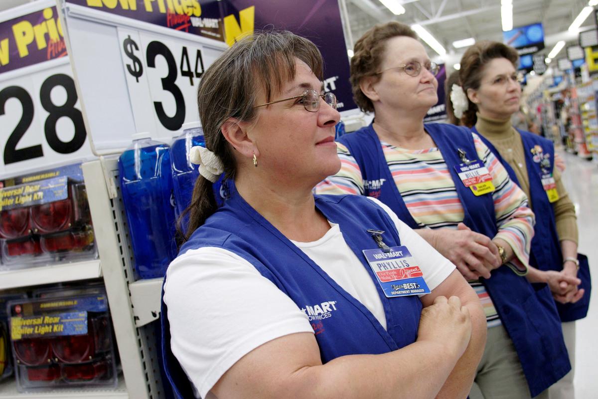 Walmart employees