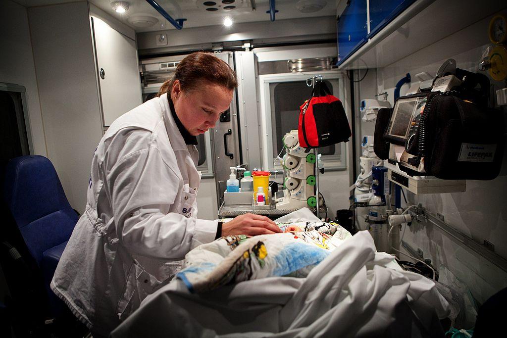 Emergency Medical Service team