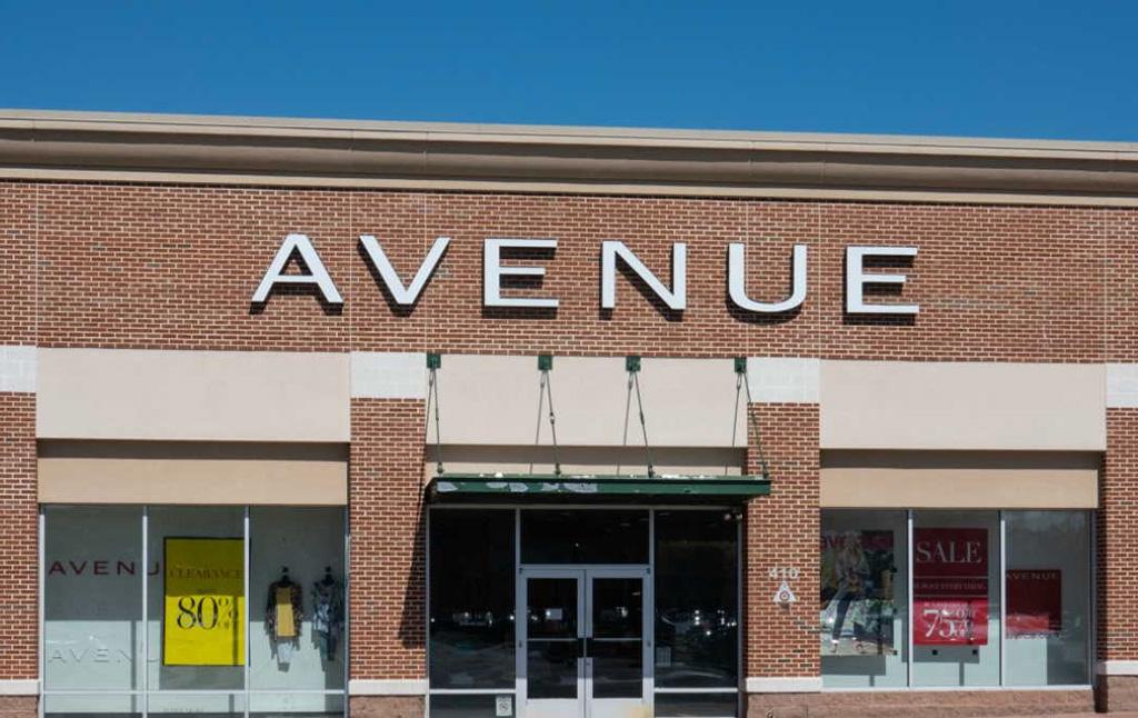 Exterior of Avenue store