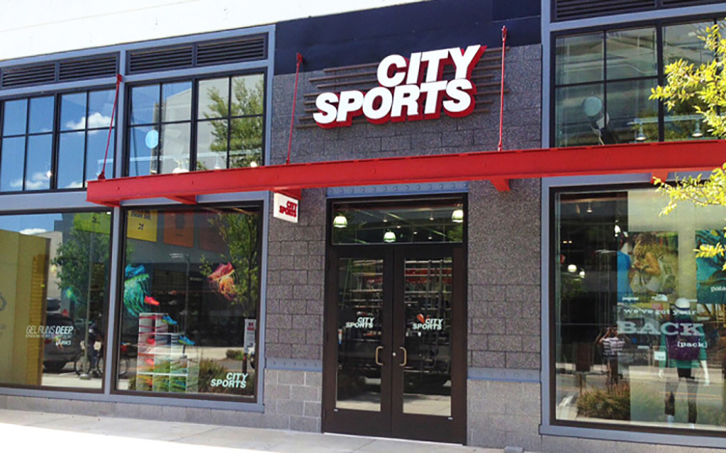 Exterior of City Sports