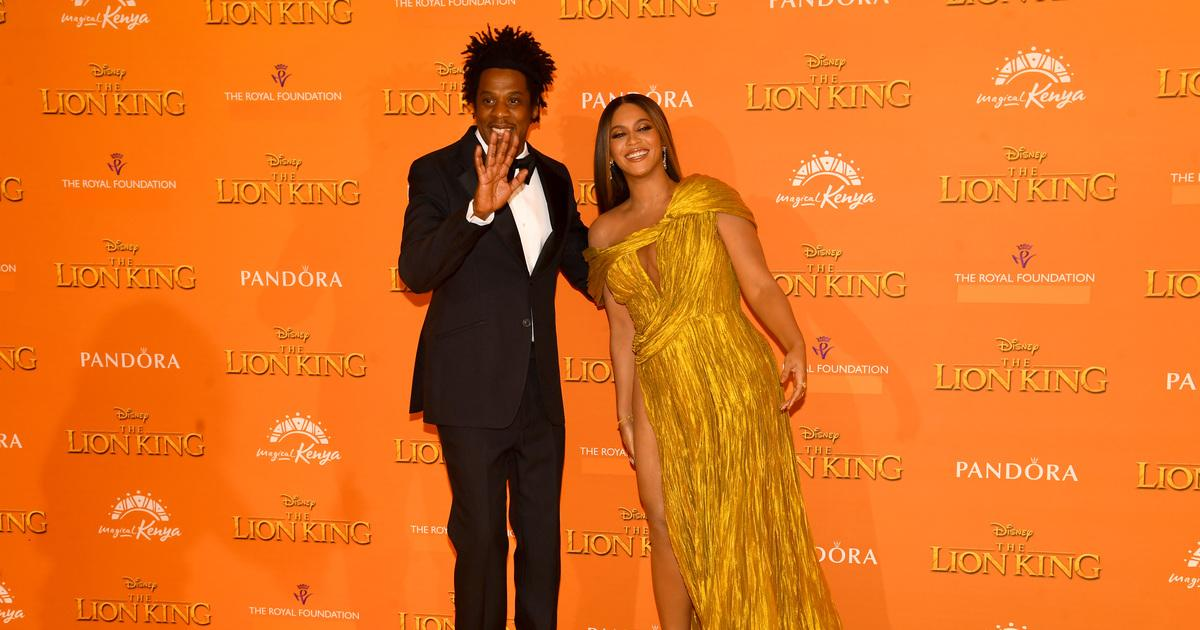 ay Z and Beyonce Knowles-Carter attends