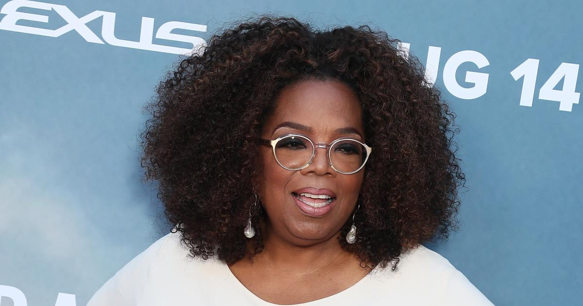 Oprah Winfrey attends the premiere of OWN's