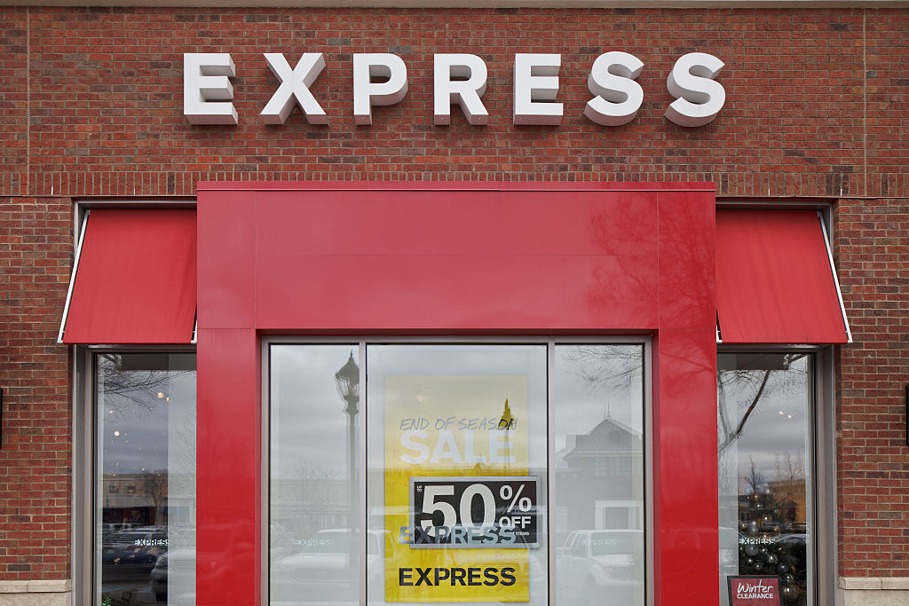Express at The Avenue shopping mall at Carriage Crossing