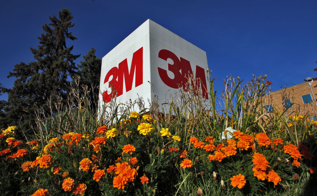 3M logo at headquarters in St. Paul