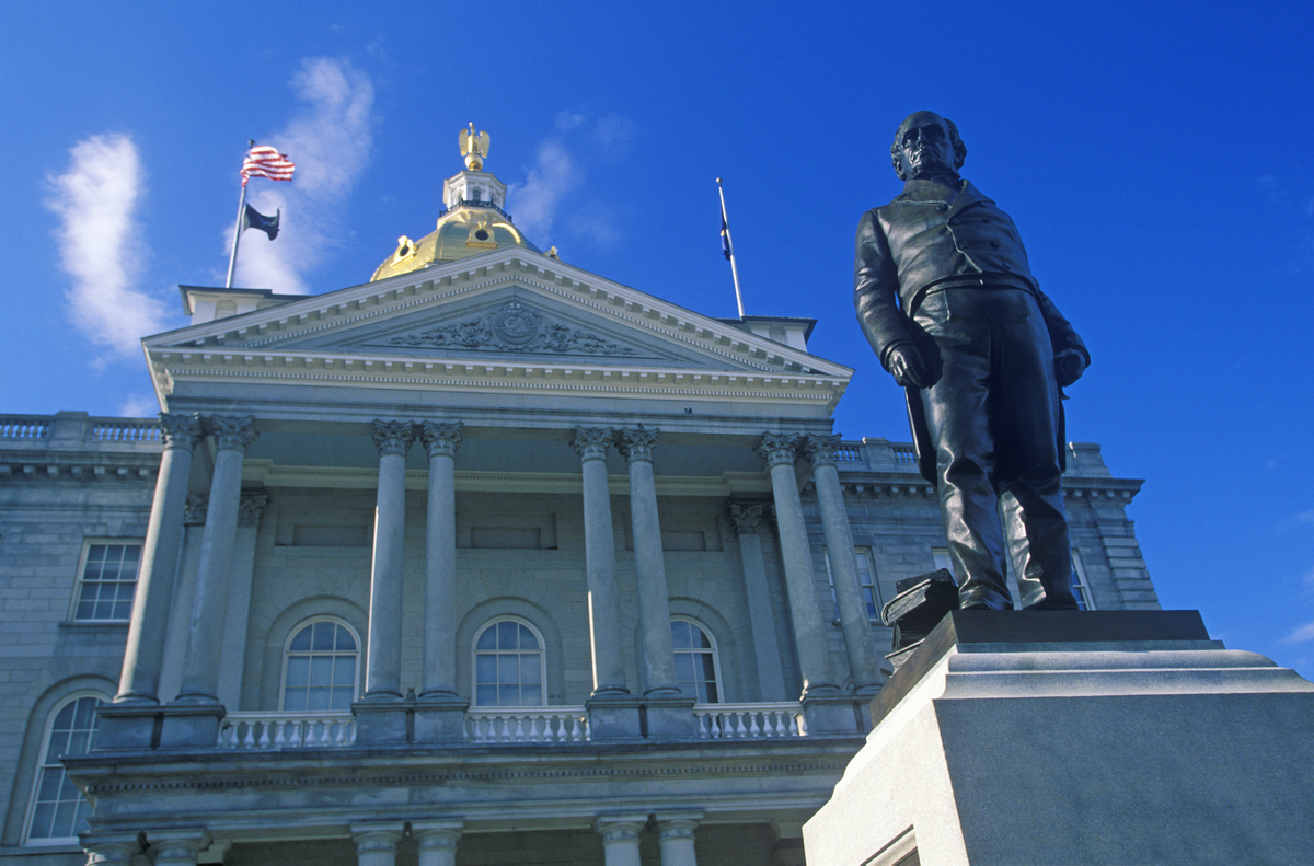 New Hampshire Levies No Taxes On Earned Income