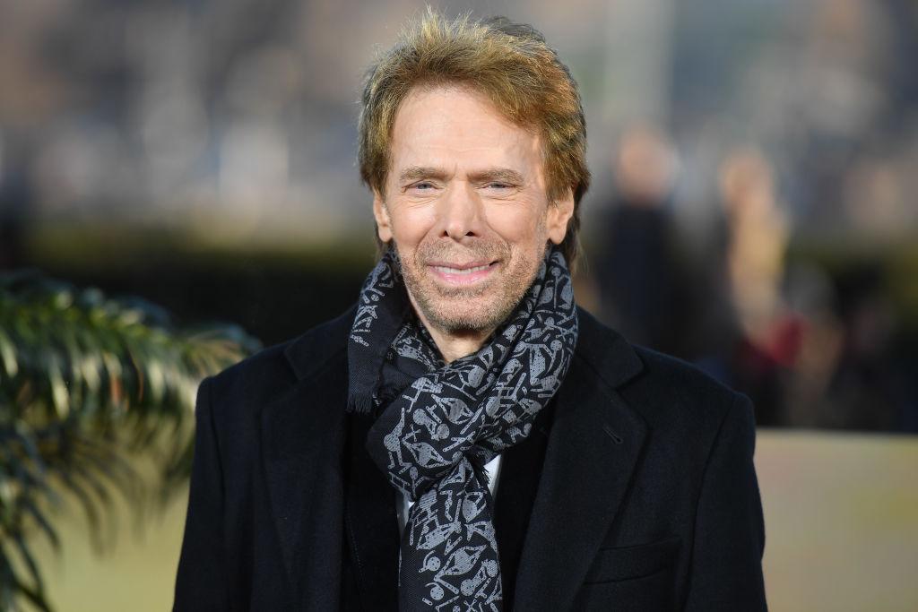jerry bruckheimer wearing a scarf