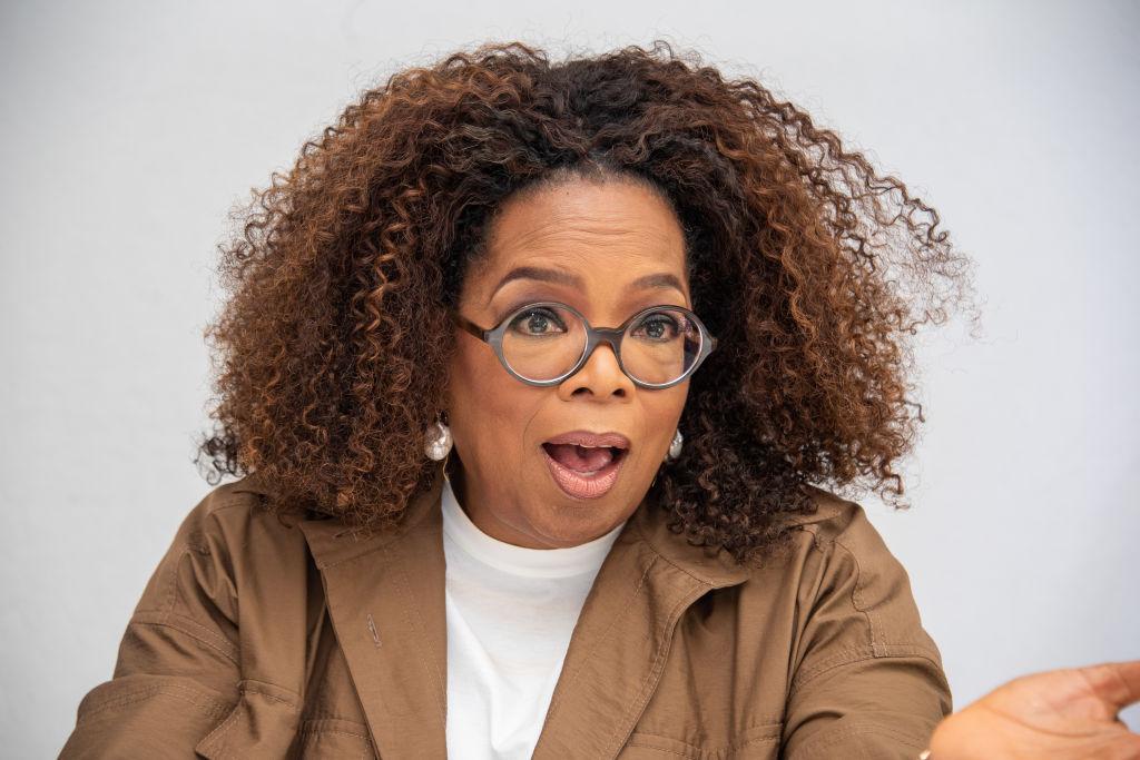 oprah winfrey wearing glasses