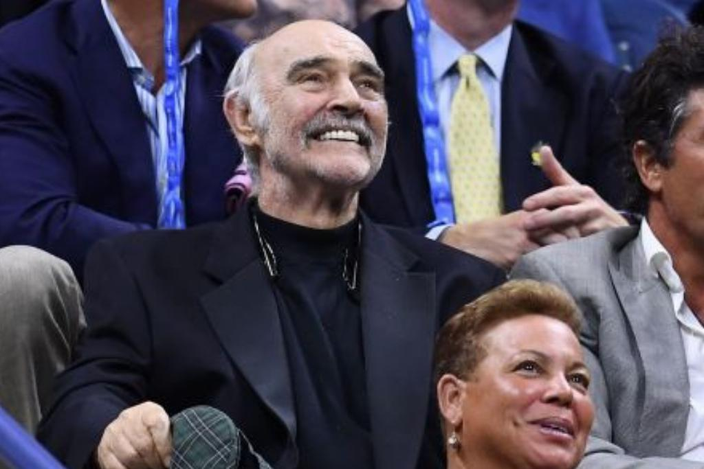 sean connery watching the US open