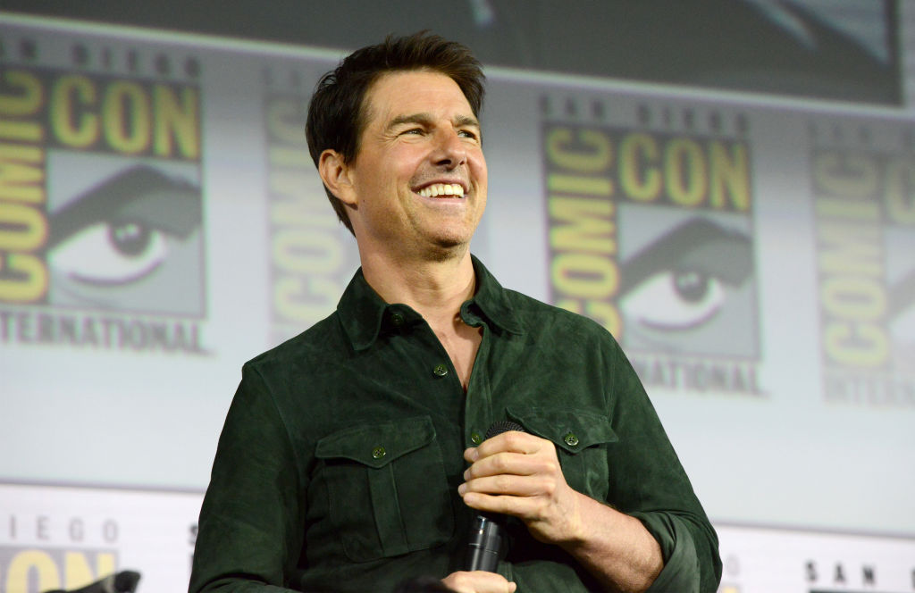 tom cruise speaking at comic con