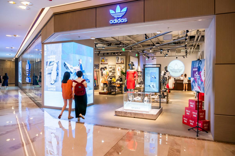 Adidas Originals, a line of casual sports clothing under...