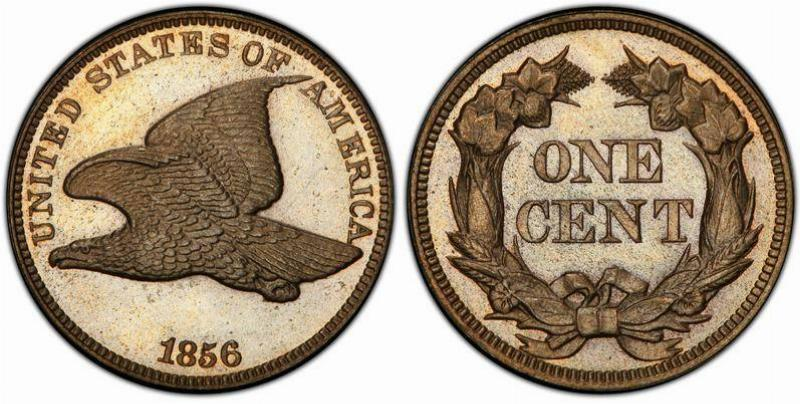 1856 Flying Eagle Penny