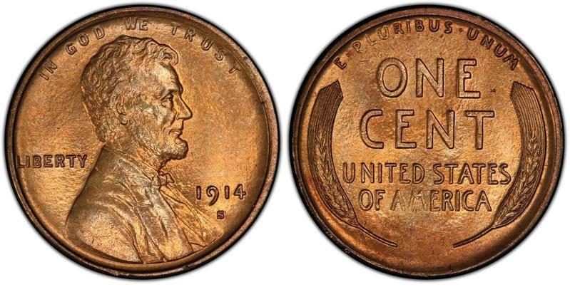 1914-S Lincoln Penny