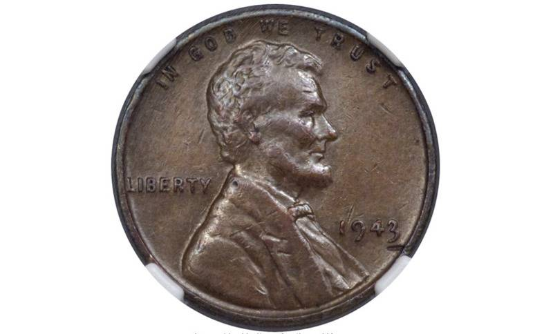 1943 Bronze Lincoln Penny