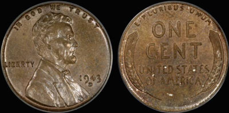 1943 Lincoln-D Penny