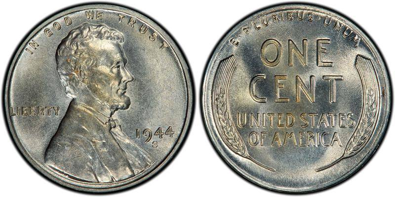 1944-S Lincoln Steel Penny