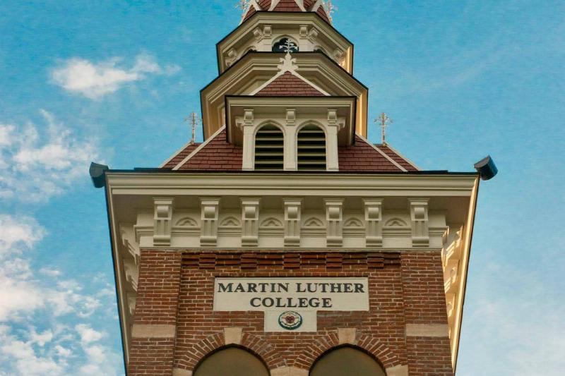 Martin Luther College tower