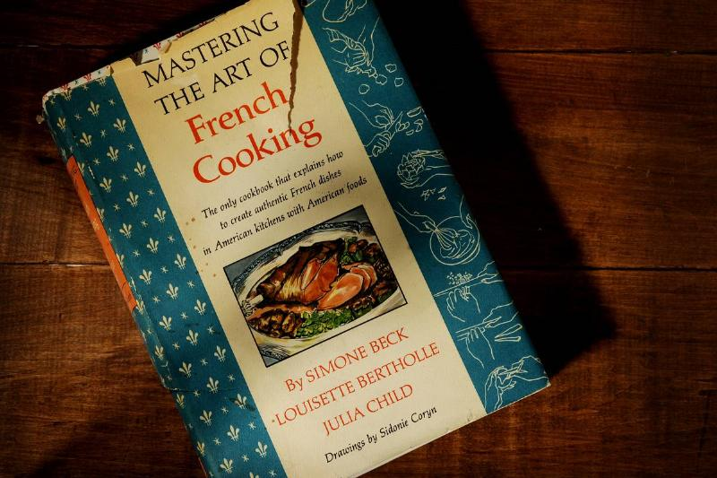 Julia Child's Mastering The Art Of French Cooking Cookbook