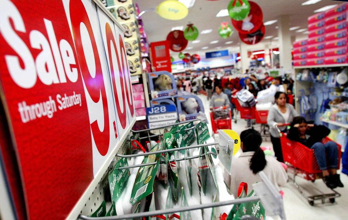 Target aisle