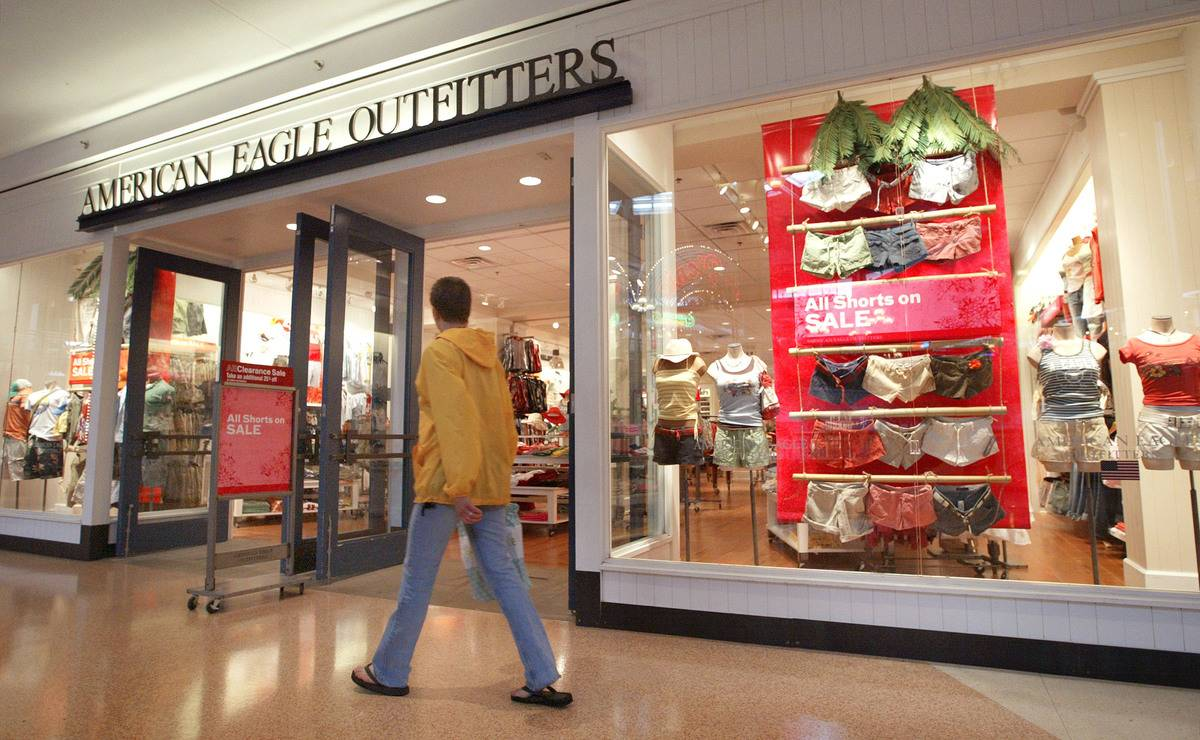 American Eagle Outfitters storefront