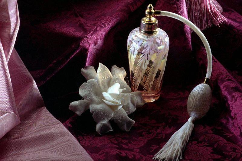 Old-School Perfume Bottles