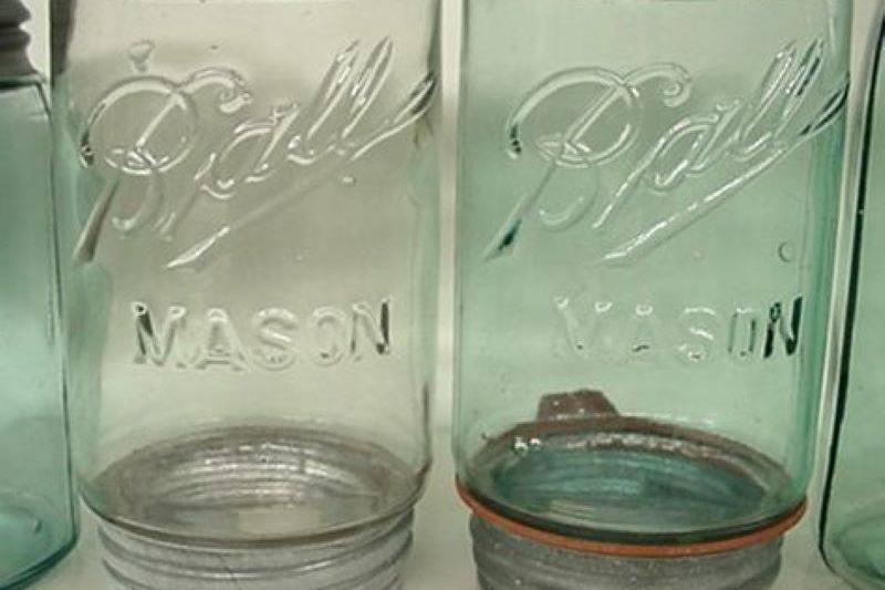 Upside-Down Ball Mason Jar