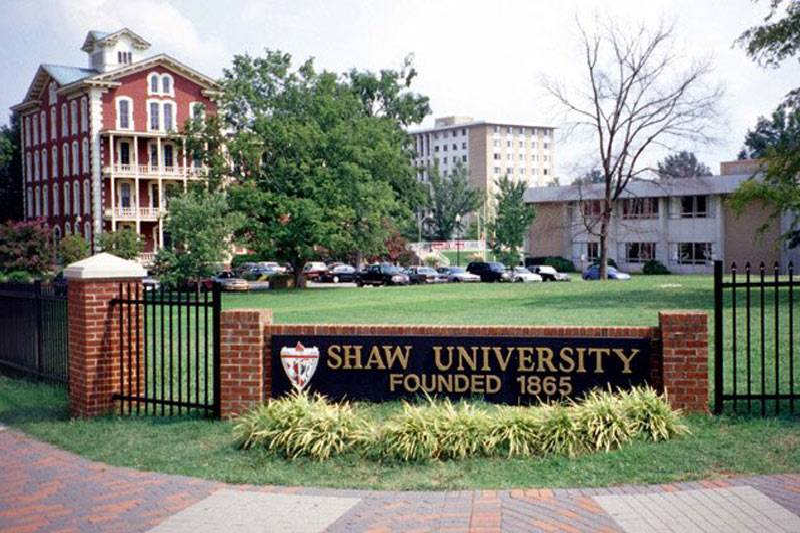 shaw entrance