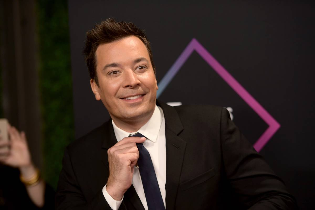 Jimmy Fallon attends the People's Choice Awards in 2018.