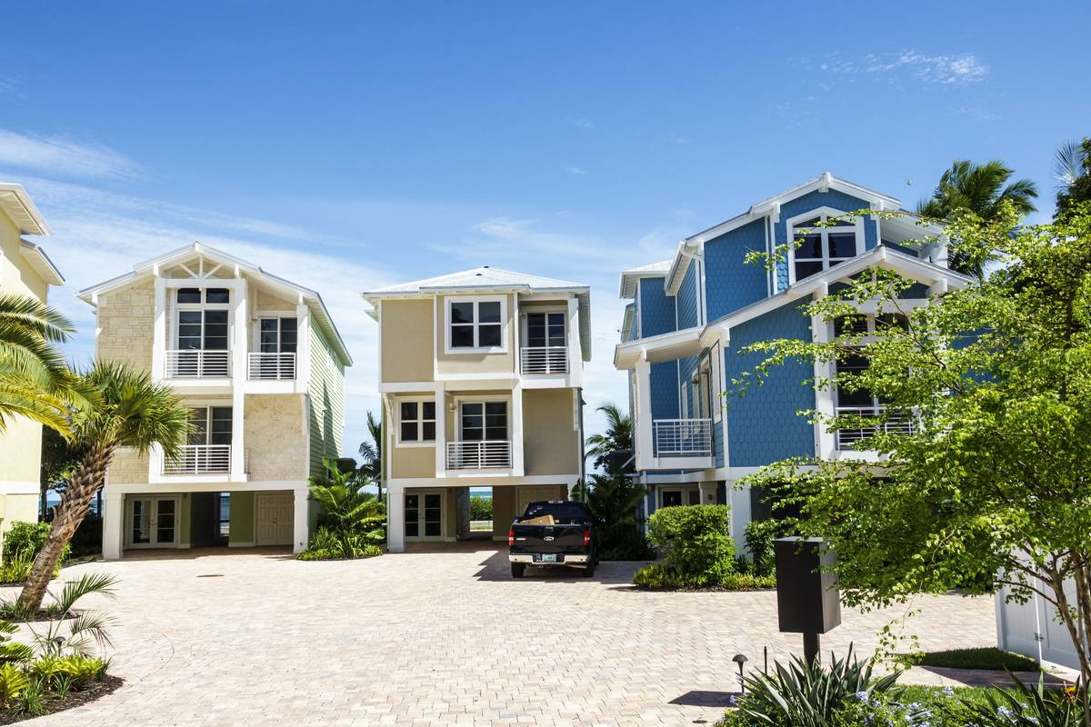 Florida Keys, Lower Matecumbe Key, Islamorada, New housing Tarpon Point