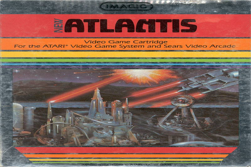 Atlantis II for Atari 2600