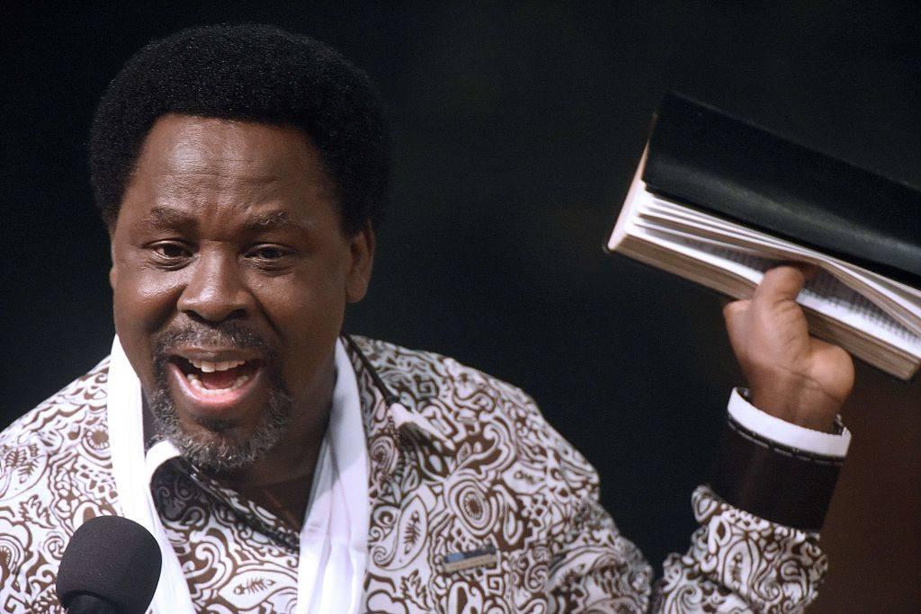 Nigerian pastor TB Joshua