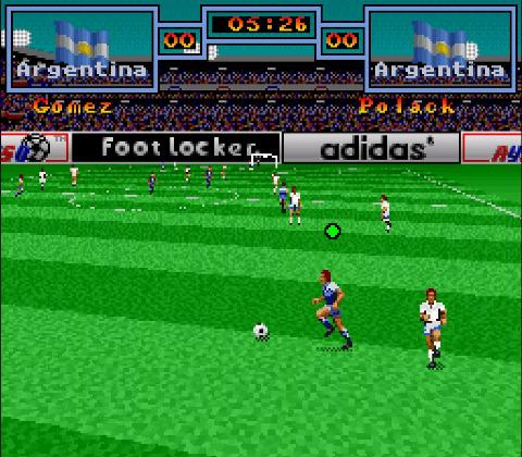 Super Copa For SNES