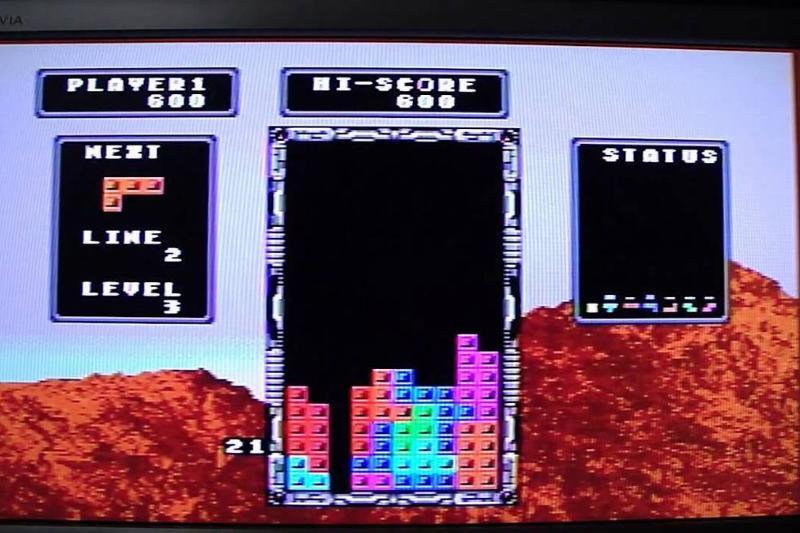 Tetris for Mega Drive