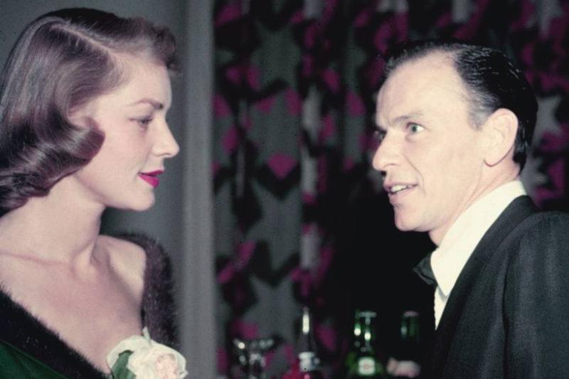 Bacall Sinatra