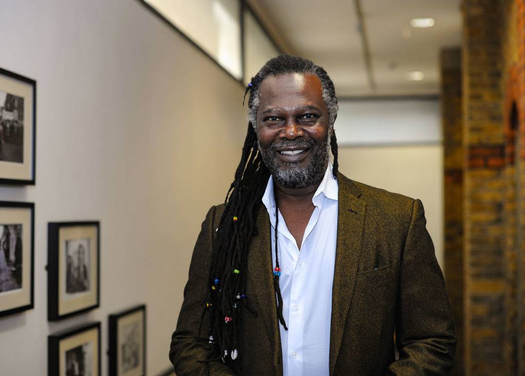 Levi Roots in a suit