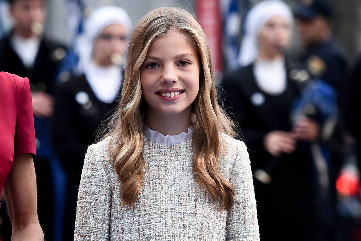 Infanta Sofía Is The King And Queen's Youngest
