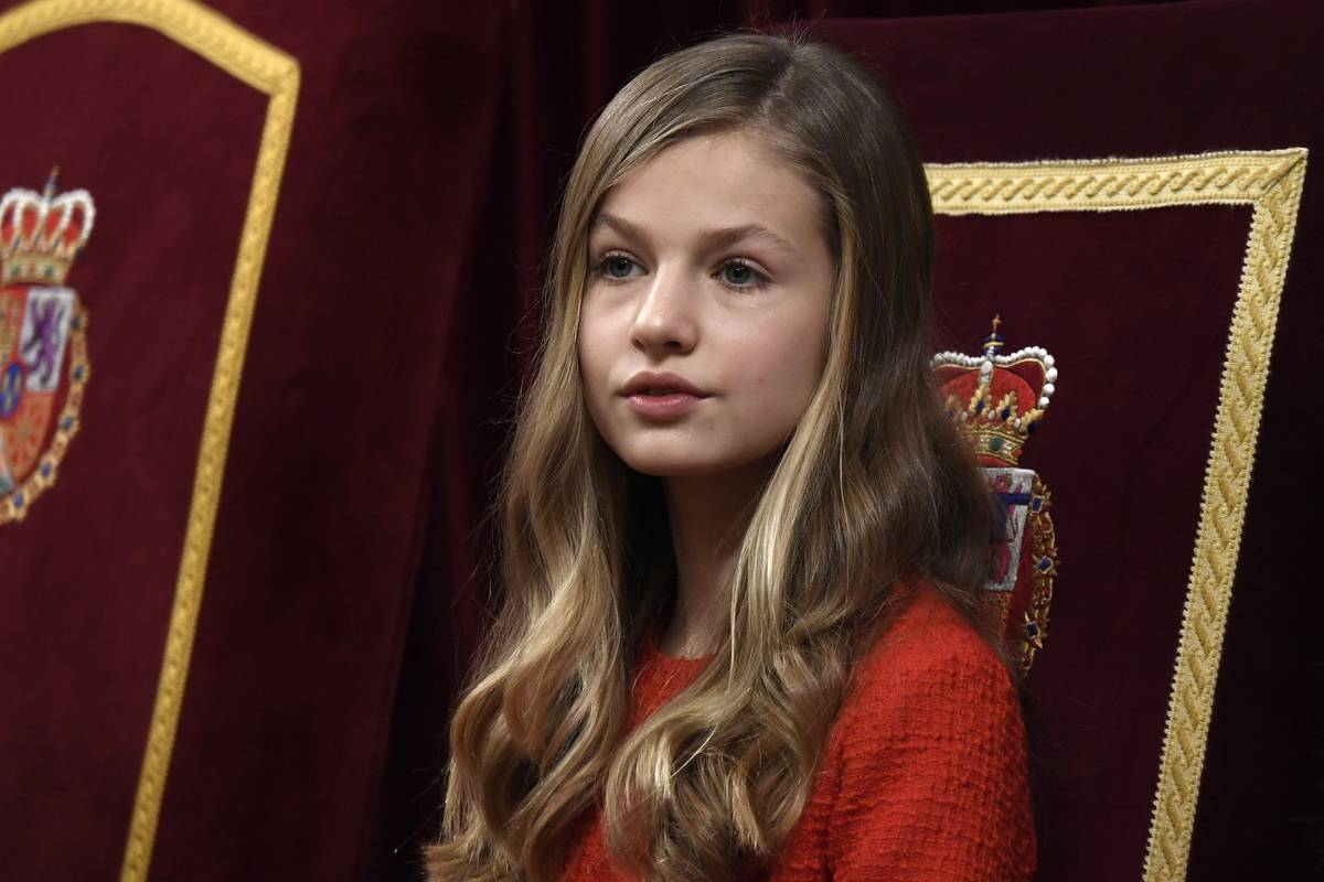 Princess Leonor Is The King And Queen's Eldest Daughter